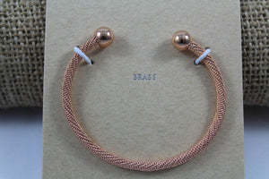 Cable Twist Bracelet - My Pink Hanger