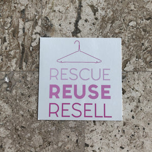Rescue Reuse Resell Cling