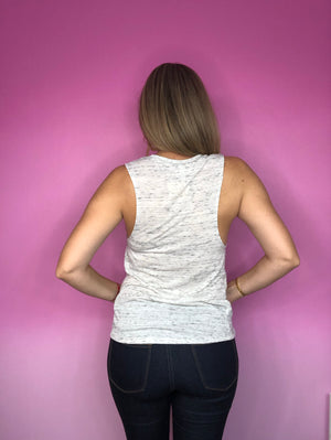 Rescue Reuse Resell Muscle Tee Tank - My Pink Hanger