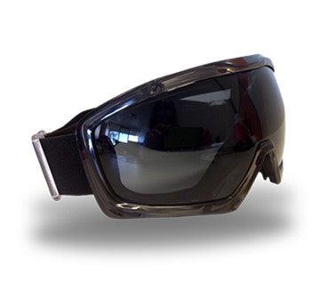 Cyclone Safety Goggles with Spherical Lens - Smoke