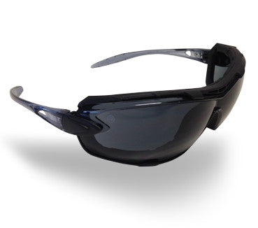 Ambush Foam Padded Safety Glasses - Smoke