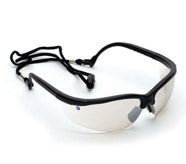 Fusion Safety Glasses - Indoor/Outdoor (Bonus Spec Cord)