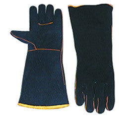 Black & Gold Welders Gloves