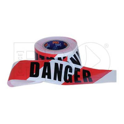Barricade Tape Red/White - Danger