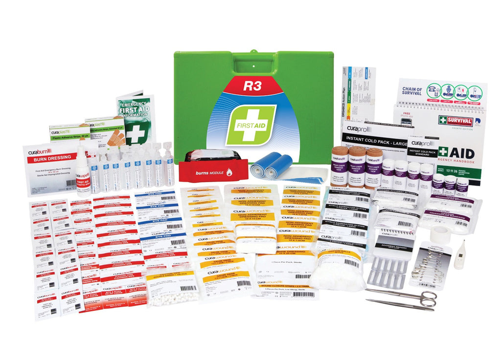 R3 - Marine Pro Kit (R3 High Risk 1-25 Persons - Low Risk 1-50 Persons)