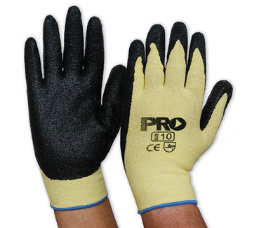 Knitted Kevlar Black Nitrile Glove