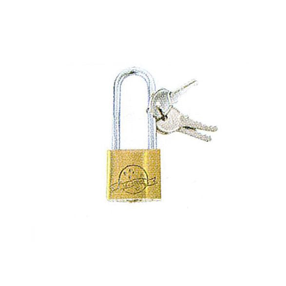 Long Shackle Brass Padlock - 50mm