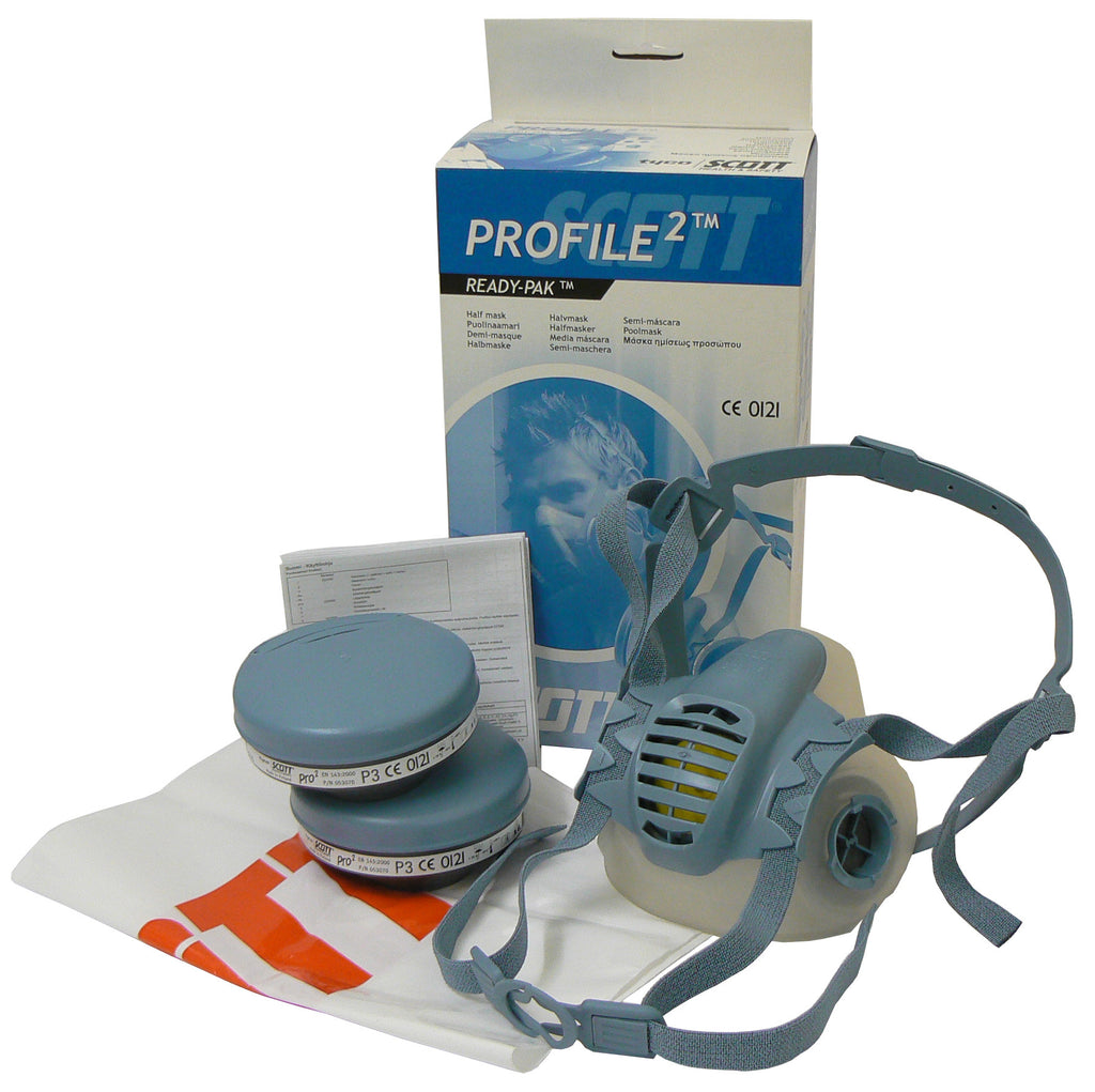 Pro 2 Half Face Respirator - Readipak - Medium