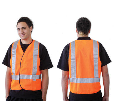 Flouro Day/Night Safety Vest 'H' Pattern