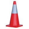 700mm W / 250mm Reflective Sleeve Traffic Cone