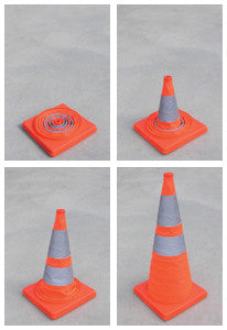 450mm Retractable Traffic Cone
