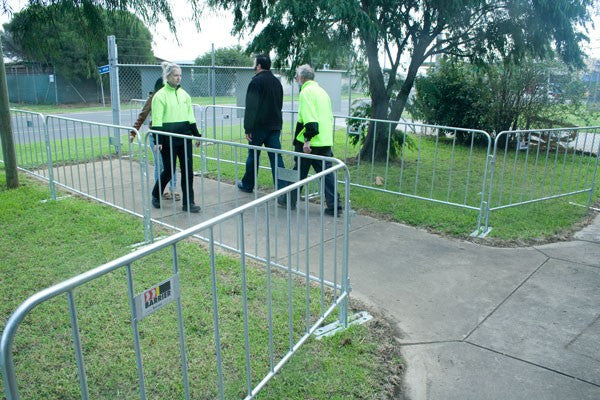 Event Fence Barriers