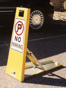 Lok-up parking space protector 'no parking' (includes padlock)