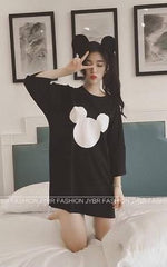 Korean Fashion - Shoes and Clothing - Mickey Mouse Formal Dress - Casual Dress -  - Gangnam Styles - 6