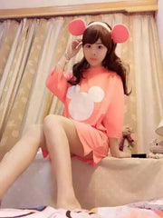 Korean Fashion - Shoes and Clothing - Mickey Mouse Formal Dress - Casual Dress -  - Gangnam Styles - 7