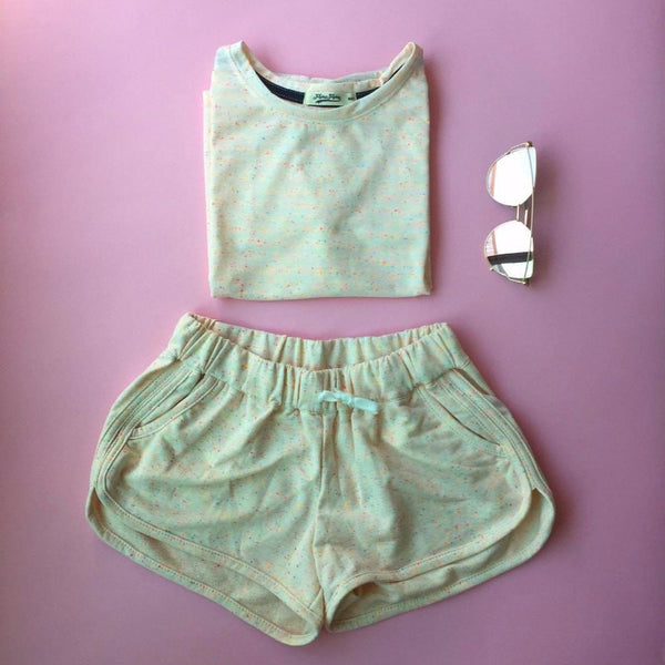 Matching Set Shorts and Shirt