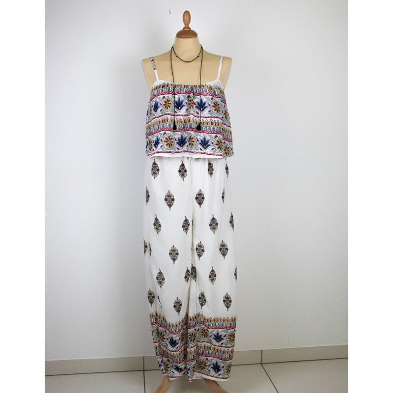 Bohemian Type Jumpsuit Dress Dress - Korean Fashion