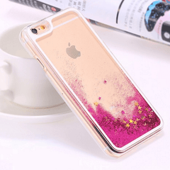 Dynamic Liquid Glitter Star Quicksand Case for iPhone 6 Iphone Case - Korean Fashion