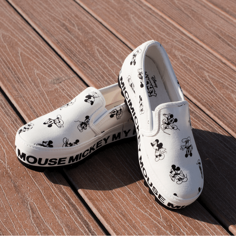 Mickey Mouse Loafers - Made in Korea - Women's Loafers