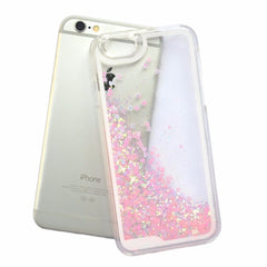 Glitter Floating Sparkle Love Case Cover for iPhone 6 Iphone Case - Korean Fashion