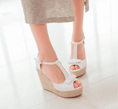 Espadrille Wedge for Boho Style Wedding Beach or Summer Style