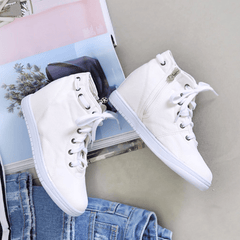 Spring Lace-up Sneakers