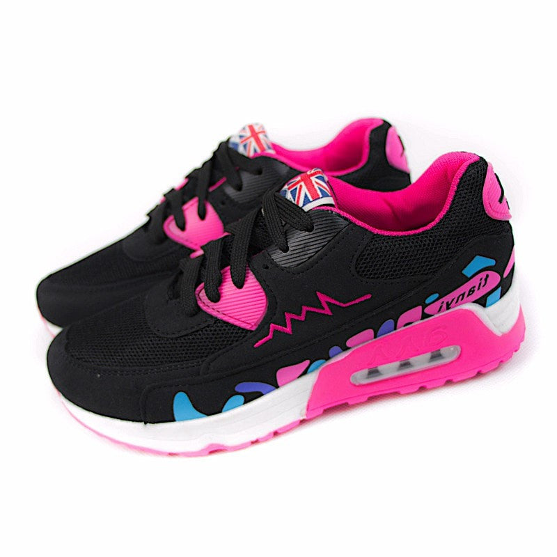 Air Wedge Sneakers Women's Shoes - Korean Fashion