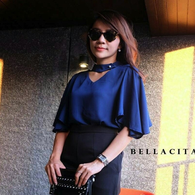 Belle Choker Top Women's Clothing - Korean Fashion