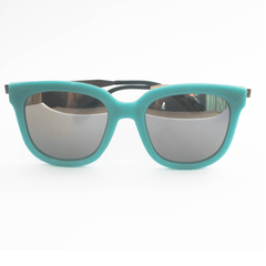 Korean Fashion - Shoes and Clothing - Turquoise Silver Mirror Sunglasses - Sunglasses -  - Gangnam Styles - 1