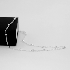 Sterling Silver Necklace Necklace - Korean Fashion