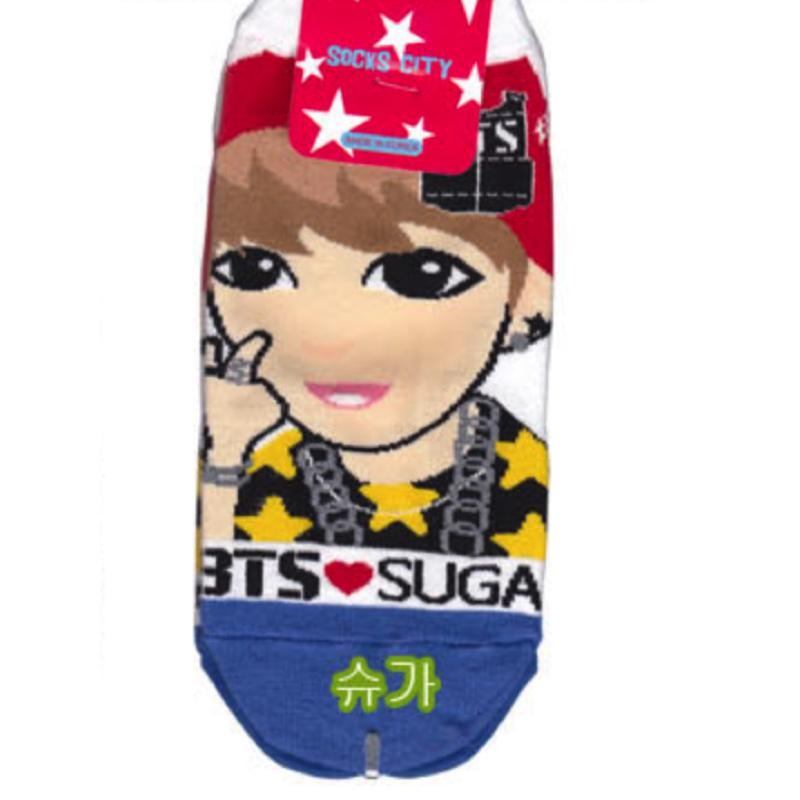 BTS Animated Socks Accessories - Korean Fashion