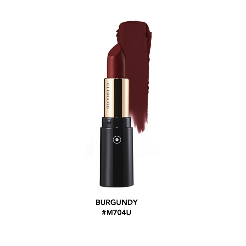 Clematis Potpourri Matte Lipstick Cosmetics - Korean Fashion