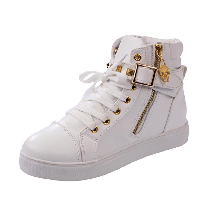 Buckle Up Sneakers Sneakers - Korean Fashion