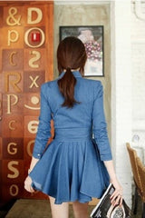 Korean Fashion - Shoes and Clothing - Casual Denim Dress - Casual Dress -  - Gangnam Styles - 6