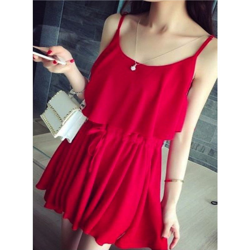 Elegant Summer Dress Dress - Korean Fashion