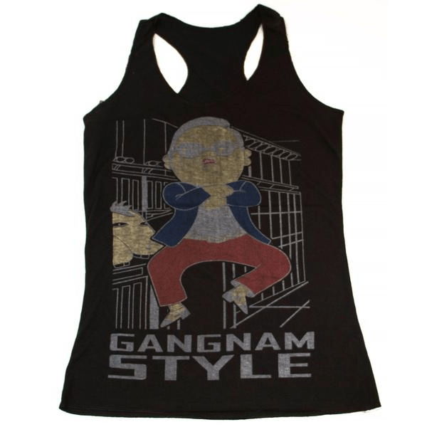 Gangnam Style Sleeveless Women's Clothing - Korean Fashion