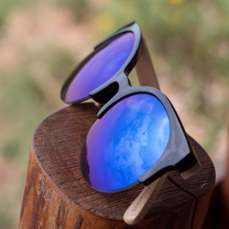 Korean Fashion - Shoes and Clothing - Urban Wild Bamboo Sunglasses - Sunglasses -  - Gangnam Styles - 2