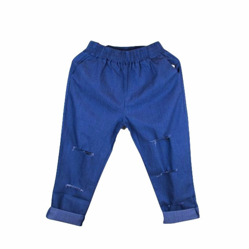 Korean Fashion - Shoes and Clothing - Baggy Jogger Sweatpants - Bottoms - Free Size / Blue - Gangnam Styles - 2