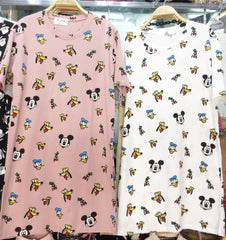 Korean Fashion - Shoes and Clothing - Mickey and Ugly Duck Mini Dress - Dress -  - Gangnam Styles - 2