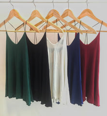 Korean Fashion - Shoes and Clothing - Strap Top Backless Sleeveless - Top Dress -  - Gangnam Styles - 7