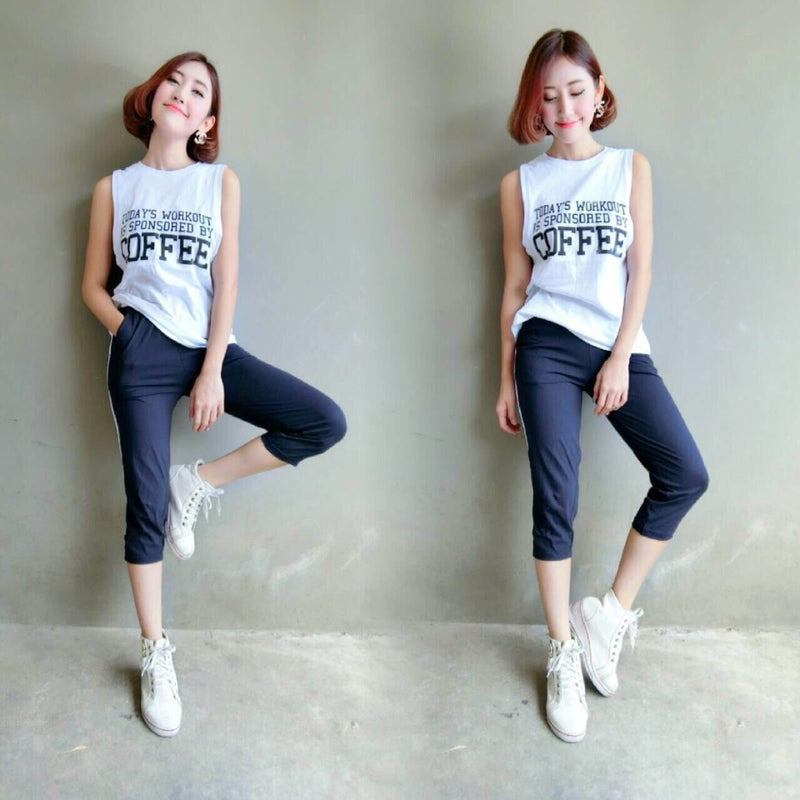 Tank Top Sleeveless Vest Women's Clothing - Korean Fashion
