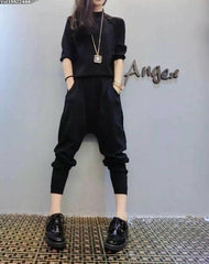 Korean Fashion - Shoes and Clothing - Set Pants And Sweater - Dress -  - Gangnam Styles - 2