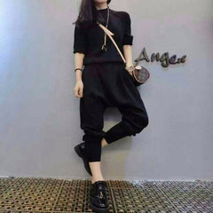 Korean Fashion - Shoes and Clothing - Set Pants And Sweater - Dress -  - Gangnam Styles - 1
