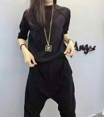 Korean Fashion - Shoes and Clothing - Set Pants And Sweater - Dress -  - Gangnam Styles - 5