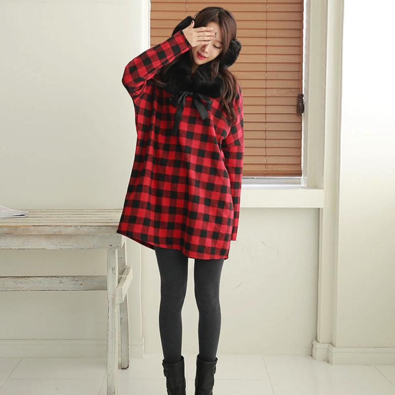 Winter Thick Leggings Bottoms - Korean Fashion
