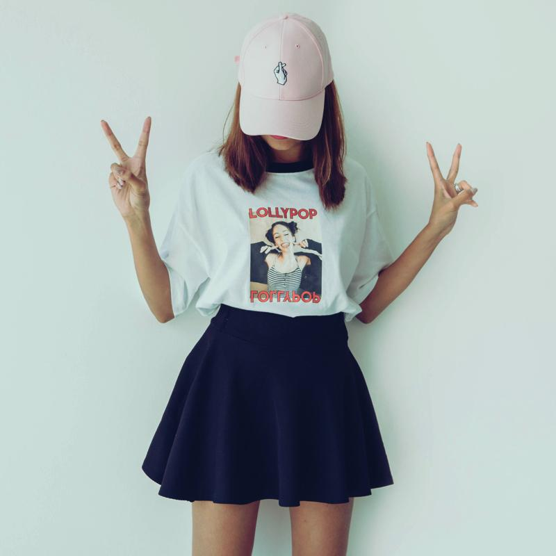 Lollipop T-Shirt Top - Korean Fashion