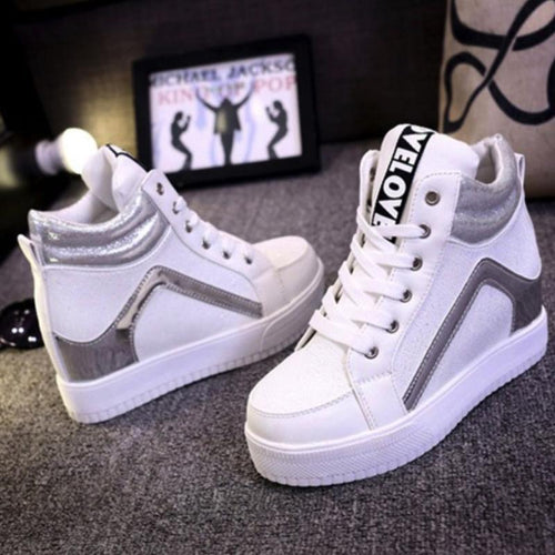 Korean Fashion - Shoes and Clothing - Wedge Sneakers