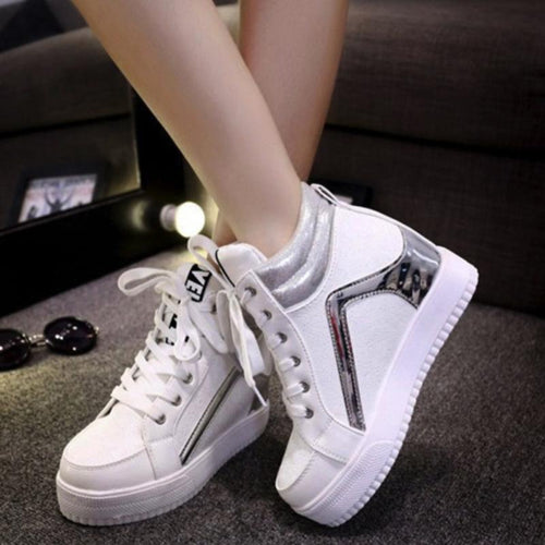 Korean Fashion - Shoes and Clothing - Wedge Sneakers  - Women's Shoes