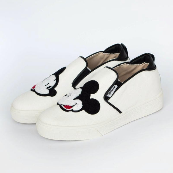 Mickey Mouse Big Face Loafers