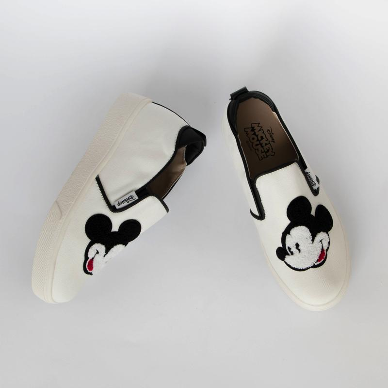 Mickey Mouse Big Face Loafers Loafers - Korean Fashion